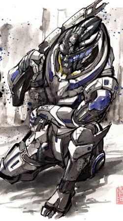 Garrus Vakarian Mass Effect Art