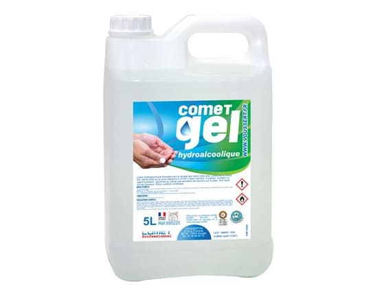 5 L hydro-alcoholic disinfectant gel