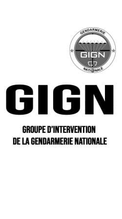 GIGN groupe dIntervention de la gendarmerie Classic