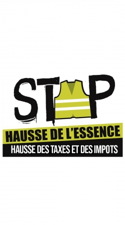 Gilet Jaune Stop aux taxes