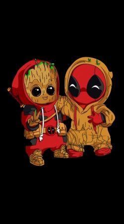 Groot x Deadpool