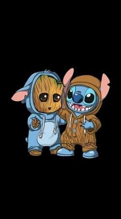 Groot x Stitch