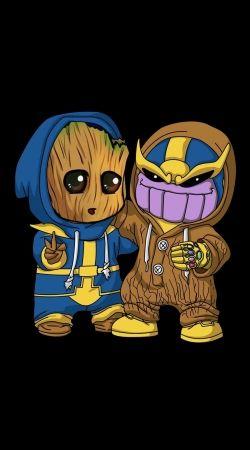 Groot x Thanos
