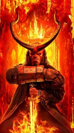 Hellboy in Fire