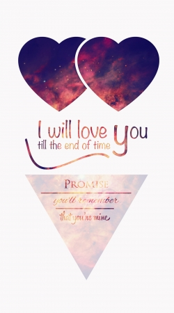 Artwork I will love you do Samsung Galaxy Young S6310