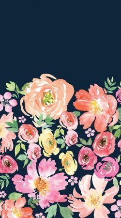 Initiale Flower