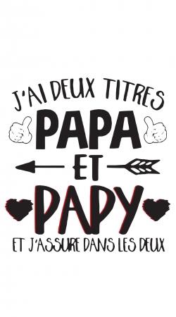 Jai deux titres Papa et Papy et jassure dans les deux