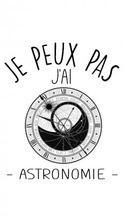 Je peux pas jai astronomie