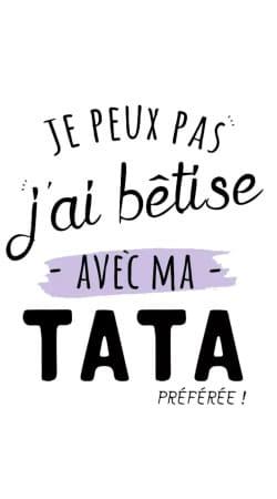 Je peux pas jai betise avec TATA