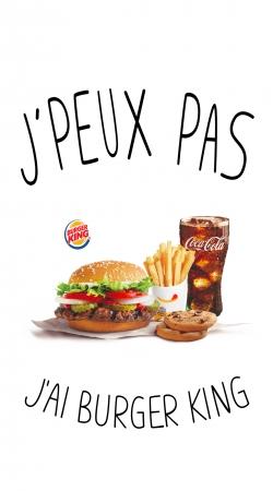 Je peux pas jai Burger King