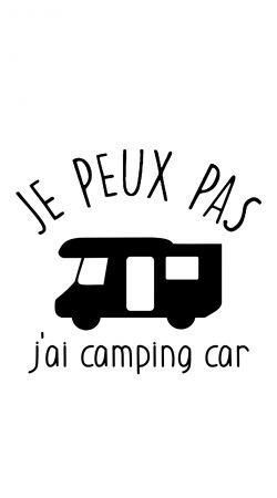 Je peux pas jai camping car