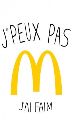 Je peux pas jai faim McDonalds