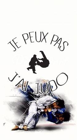 Je peux pas jai Judo ceinture
