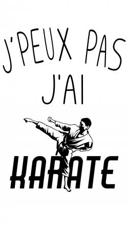 Je peux pas jai Karate