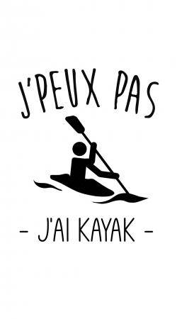 Je peux pas jai Kayak