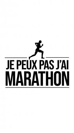Je peux pas jai marathon