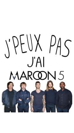Je peux pas jai Maroon 5