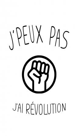 Je peux pas jai revolution