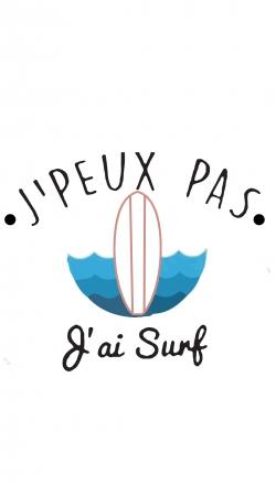 Je peux pas jai surf