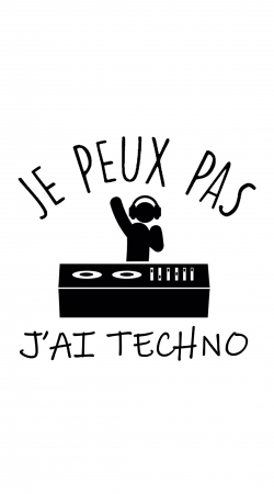Je peux pas jai techno Festival