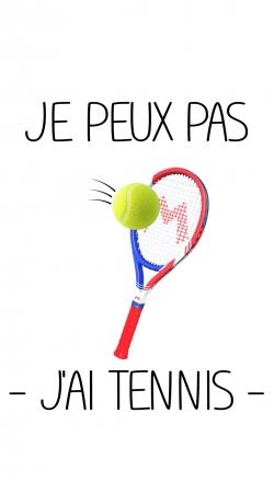 Je peux pas jai tennis