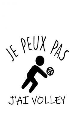 Je peux pas jai volleyball