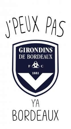 Je peux pas ya Bordeaux