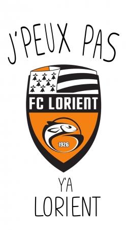 Je peux pas ya Lorient