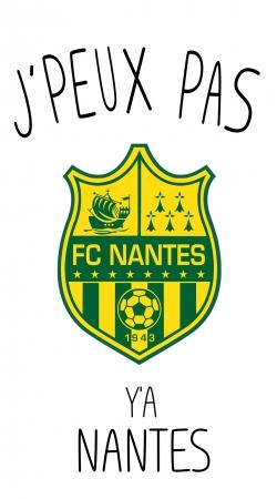 Je peux pas ya Nantes
