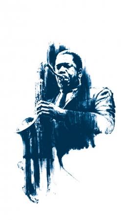 John Coltrane Jazz Art Tribute