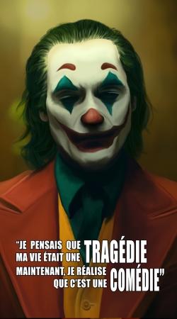 Joker Quotes Je pensais que ma vie etait une tragedie maintenant je sais que cetait une comedie