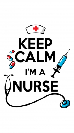 Keep calm I am a nurse