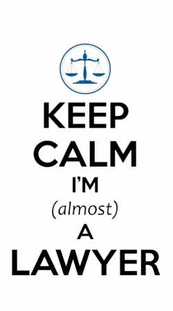 Keep calm i am almost a lawyer