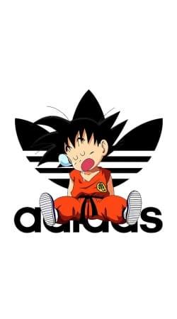 Kid Goku Adidas Joke