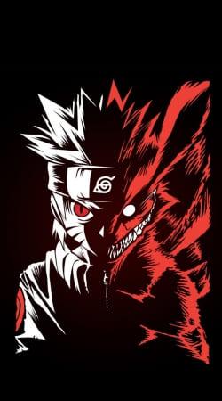 Kyubi x Naruto Angry