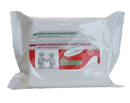 Disinfectant wipes for hands and surfaces