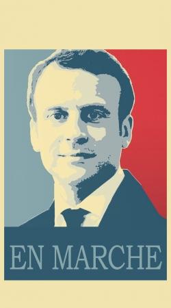 Macron Propaganda En marche la France