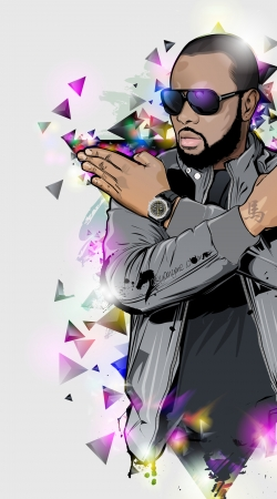 Artwork Maitre Gims - zOmbie do Samsung Galaxy Young S6310
