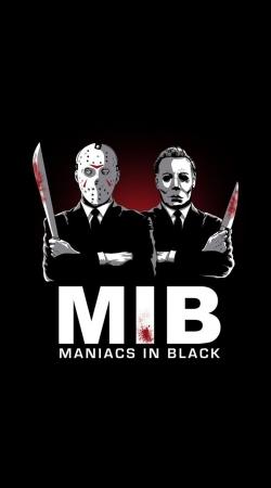Maniac in black jason voorhees