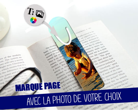 Aluminum bookmark