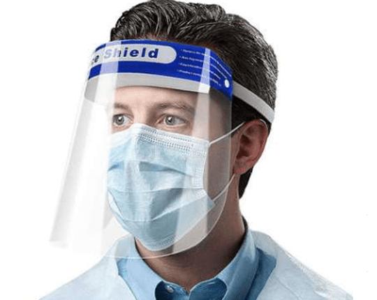 Rigid protective mask - Welding mask