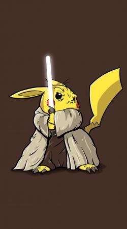 Master Pikachu Jedi