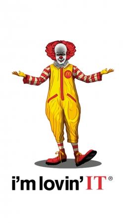 Mcdonalds Im lovin it - Clown Horror