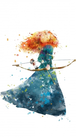 Merida Watercolor