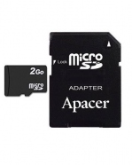 Micro SD 2Go with adapter