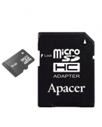 Micro SD 4Go with adapter