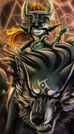 Midna And Wolf