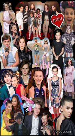 Millie Bobby Brown collage