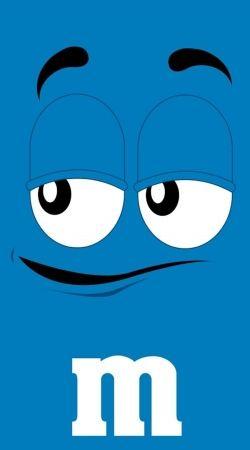 M&M's Blue