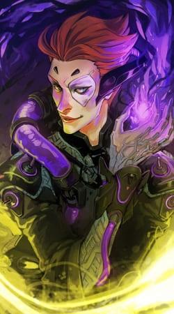 Moira Overwatch art